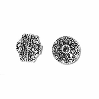 10mm Fancy Round; Diamonds; Dots & Rope (1PC)