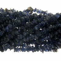 Iolite Beads Chips 36 Strand