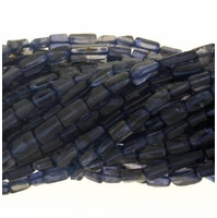 Iolite Rectangle Beads 14.5 Strand
