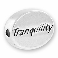 Tranquility Message Bead