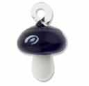 Murano Lampwork Glass 45mm Mushroom Pendant (1PC)