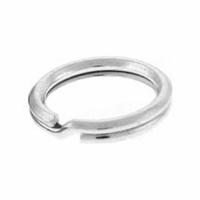 6mm Sterling Silver Split Rings (10PK)