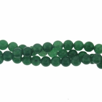 4mm Dark Aventurine Beads 16 Inch Strand