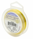 20 GA Lemon Silver Plated Artistic Wire 25FT Spool