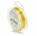 24 GA Silver Plated Lemon Color Artistic Wire 15 yard Spool