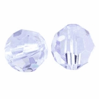 Violet 8mm Swarovski 5000 Round Crystal Beads (1PC)