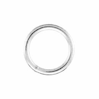 Silver Filled 8mm Closed Jump Ring (1PC)