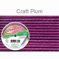 Econoflex Craft Fine Wire .014 Diameter 7 Strand  Plum