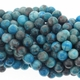 6mm Blue Crazy Lace Agate 16 Inch Strand