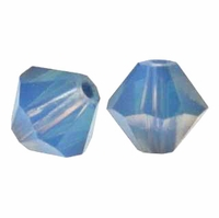 White Opal Sky Blue 5301 Discontinued Swarovski 6mm (10PK)