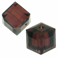Burgundy 5601 Swarovski 4mm Cube Bead (1PC)