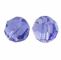 Tanzanite Swarovski 5000 5mm Crystal Beads (10PK)