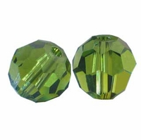 Olivine Swarovski 5000 5mm Crystal Beads (10PK)