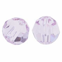 Light Amethyst Swarovski 5000 5mm Crystal Beads (10PK)