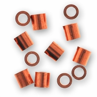 Bright Copper Crimp Bead (10PK)