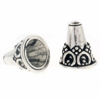 17 x 14mm Bali Style Open Cone (1PC)