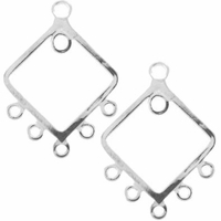 Square Chandelier Earring Drop (1PC)