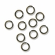 Antiqued Brass 4.5mm Open Jump Rings (50PK)