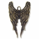Antiqued Brass 54mm Wings Pendants (2PK)