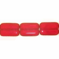 Siam Ruby 8/12 Rectangle Window Beads (12PK)
