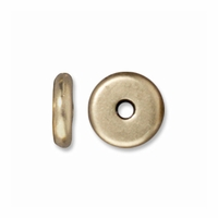 5mm Brass Oxide Disk Heishi Spacers (10PK)
