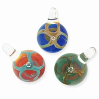 Glass Bead Pendant (1pc)