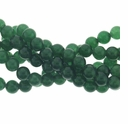 6mm Dark Aventurine  Beads 16 Inch Strand