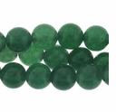 8mm Dark Aventurine  Beads 16 Inch Strand