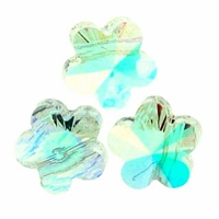 6mm Crystal AB Swarovski Crystal  5744 Flower Bead (1PC)