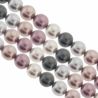 Multi Color 538  6mm South Sea Pearls 16-Inch Strand