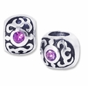 MIOVI� Silver Plated Large Hole 10mm Decorative Bead (1PC)