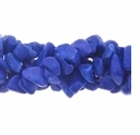 Lapis Marble (IM) Bead Chips 36 Inch Strand