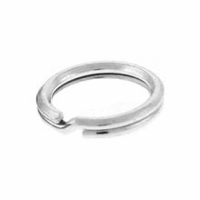 5mm Sterling Silver Split Rings (10PK)