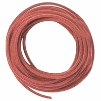 Faux Suede Lt. Brown Cord 3mm 5 Yards (15 feet)