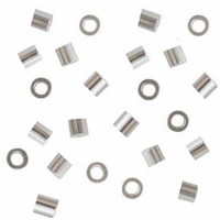 2x1.5mm Crimp Tube Beads (10PK)