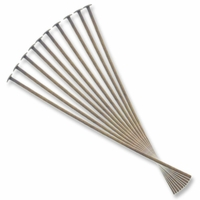 Antique Brass Ultra Thin 2 Inch Head Pin  (10PK)
