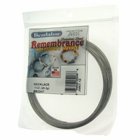 Remembrance™  Memory Wire Necklace 1oz
