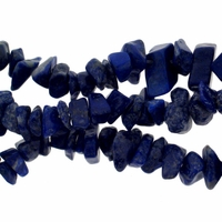 Chips 16 Inch Lapis Lazuli Beads 16 Inch Strand