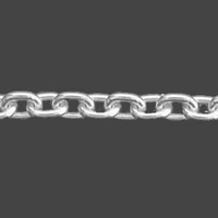 Sterling Silver Heavy Cable Chain 2.2mm Diameter 060
