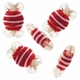 20mm Christmas Sweet Lampwork Glass Beads (6PK)