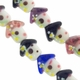 18mm Mixed Bird Houses Lampwork Glass Beads ( 1 Strand)