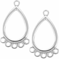 Teardrop Chandelier Earring Drop (1PC)