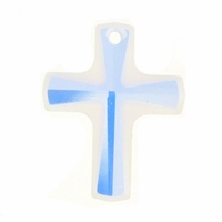 Crystal AB 6860 Swarovski 20x18mm Cross Pendants