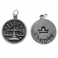 Libra Sterling Silver Charm- Sept 23- Oct. 22