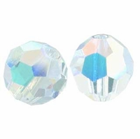 Crystal AB 8mm Swarovski 5000 Round Crystal Beads (1PC)