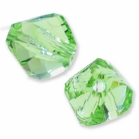 8mm Peridot 5020 Swarovski Crystal Helix Bead (1PC)
