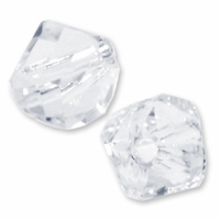 8mm Crystal 5020 Swarovski Crystal Helix Bead (1PC)