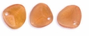 Czech Rose Petals 8/7mm Milky Topaz Glass Beads (50PK)