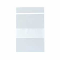 "Polybag; 4x6"" 2mil clear with white block (100PK)"