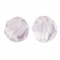 Greige Swarovski 5000 6mm Crystal Beads (10PK)